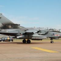 RAF Tornado GR4 ZA447 At RIAT 2010 Arp