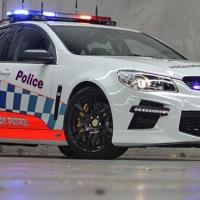 HSV GTS Police Car 2